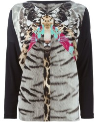 Multi colored Print Long Sleeve T-shirt