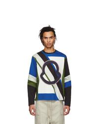 Moncler Genius 5 Moncler Craig Green Multicolor Logo Long Sleeve T Shirt