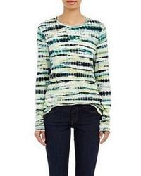 Proenza Schouler Lightweight Slub Jersey Long Sleeve T Shirt