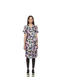 Marc Jacobs Multicolor The Wrap Dress
