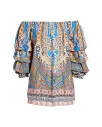 Kas New York Requena Peasant Blouse
