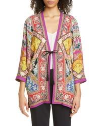 Etro Floral Paisley Print Jacket