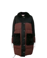 Marni Shearling Collar Padded Coat