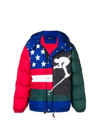 Polo Ralph Lauren Padded Multi Print Jacket