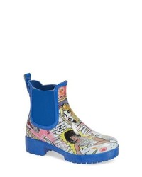Jeffrey Campbell Cloudy Chelsea Rain Boot