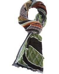 Multi colored Print Scarf