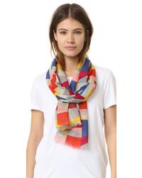 Colorscape print scarf medium 716844