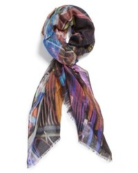 Echo Times Square Digital Print Scarf Multi One Size One Size