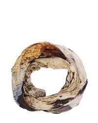Etro Horse Printed Linen Gauze Scarf