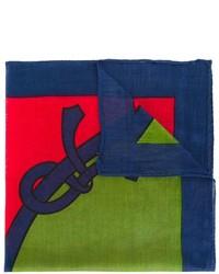 Roberta Di Camerino Vintage Colour Block Square Pocket