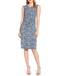 Nic+Zoe Lattice Twist Front Sleeveless Dress