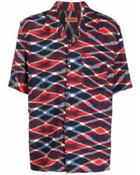 Missoni Geometric Print Short Sleeved Shirt