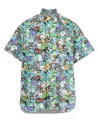 Vetements Graphic Print Short Sleeved Shirt