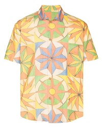 The Elder Statesman Khadi Printed Shirt