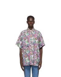 Vetements Multicolor Cartoon Mania Flannel Shirt