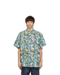 Vetements Multicolor Cartoon Mania Short Sleeve Shirt