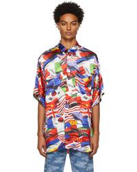Vetements Multicolor Flags Fluid Shirt