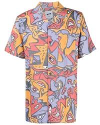Vans Night Eyes Print Shirt