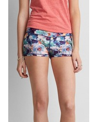 American Eagle Outfitters O Printed Soft Shorts