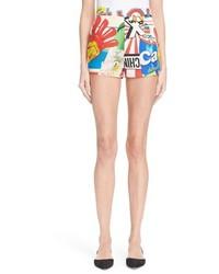 Moschino The Powerpuff Girls Print Shorts