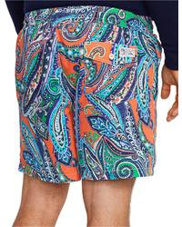 ... Polo Ralph Lauren Traveler Paisley Swim Shorts ...