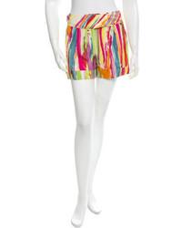 Saint Laurent Yves Printed Shorts