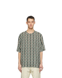 Lemaire Multicolor Silk Bamboo Print T Shirt