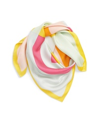 Tory Burch Colorblock Lo Scarf