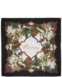Burberry Silk Archive Print Scarf