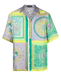 Versace Barocco Mosaic Print Shirt