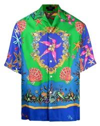 Versace Trsor De La Mer Print Shirt