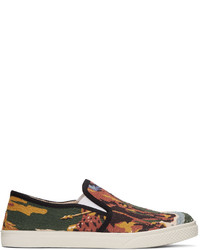 Stella McCartney Multicolor Printed Slip On Sneakers