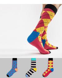 Happy Socks Hs By Socks 3 Pack