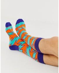 Happy Socks Rock N Roll Stripe Socks