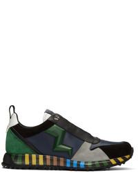 Multicolor speed runner sneakers medium 3715357