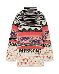 Missoni Intarsia Wool Blend Mini Dress