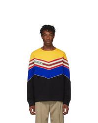 Gucci Black V Neck Sweatshirt