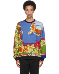 Versace Multicolor Medusa Renaissance Sweatshirt