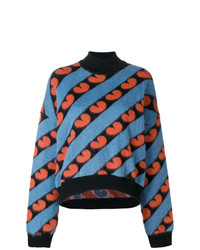 Marni Heart Striped Jumper