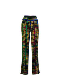 Etro Printed Flared Trousers