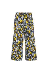Marni Wide Legged Printed Trousers