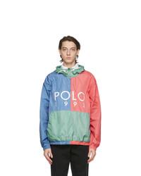 Polo Ralph Lauren Multicolor Polo 1992 Windbreaker Jacket