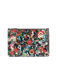 DSQUARED2 Tattoo Print Pouch