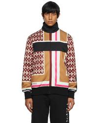 Valentino Multicolor Foulard Print Track Jacket