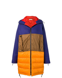 Marni Colour Block Padded Coat