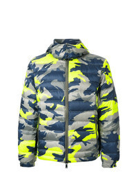 Multi colored Puffer Jacket