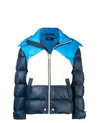 Diesel Color Blocked Puffer