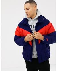 Nike Down Jacket In Navy 928893 478