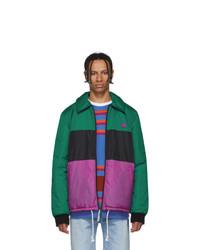 Acne Studios Green Stripe Odgar Face Jacket