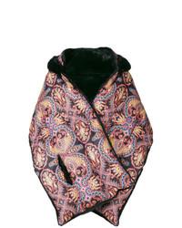 Etro Puffer Jacket Cape